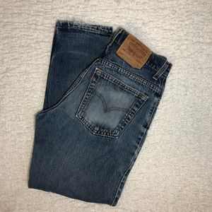 LEVIS 550 RELAXED FIT TAPERED JEANS